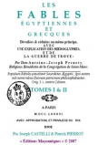 LES FABLES ÉGYPTIENNES ET GRECQUES TOME I & II DOM PERNETY (Dom Antoine–Joseph Pernety 1776)